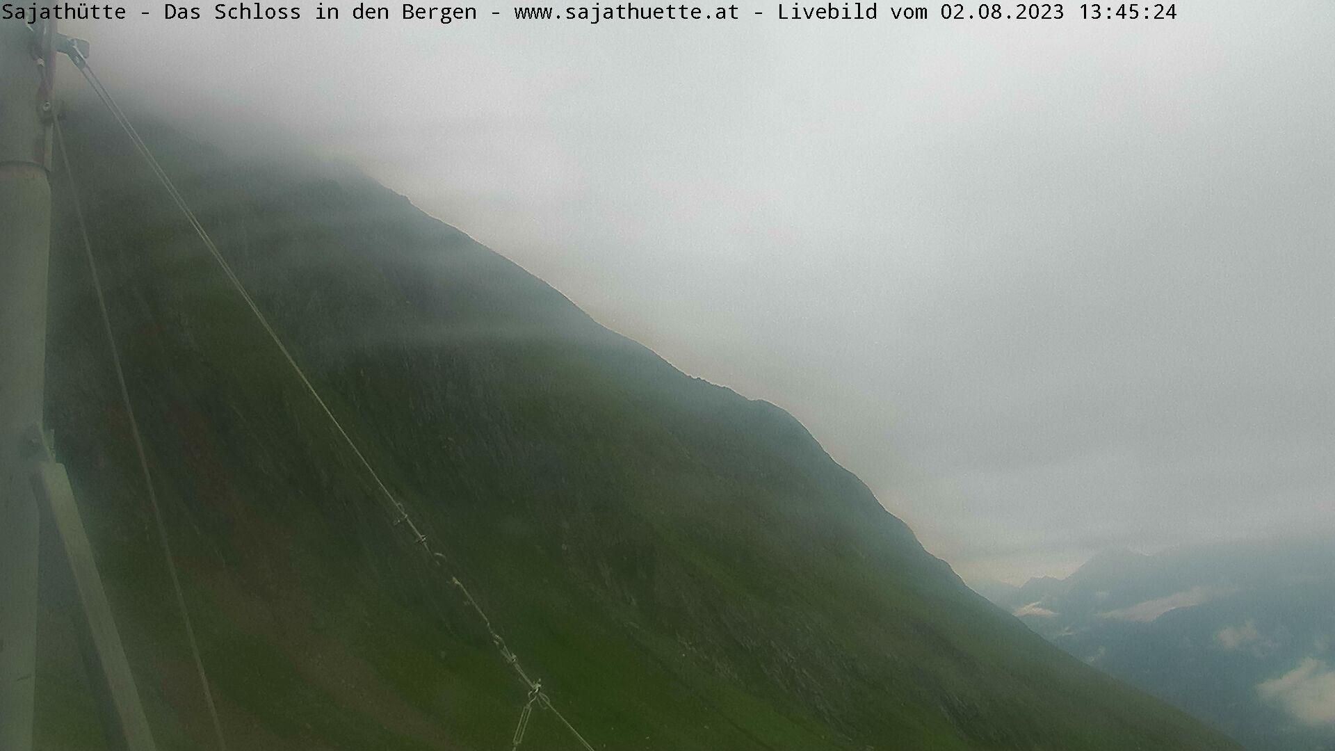 Webcam / Livebilder von der Sajathütte