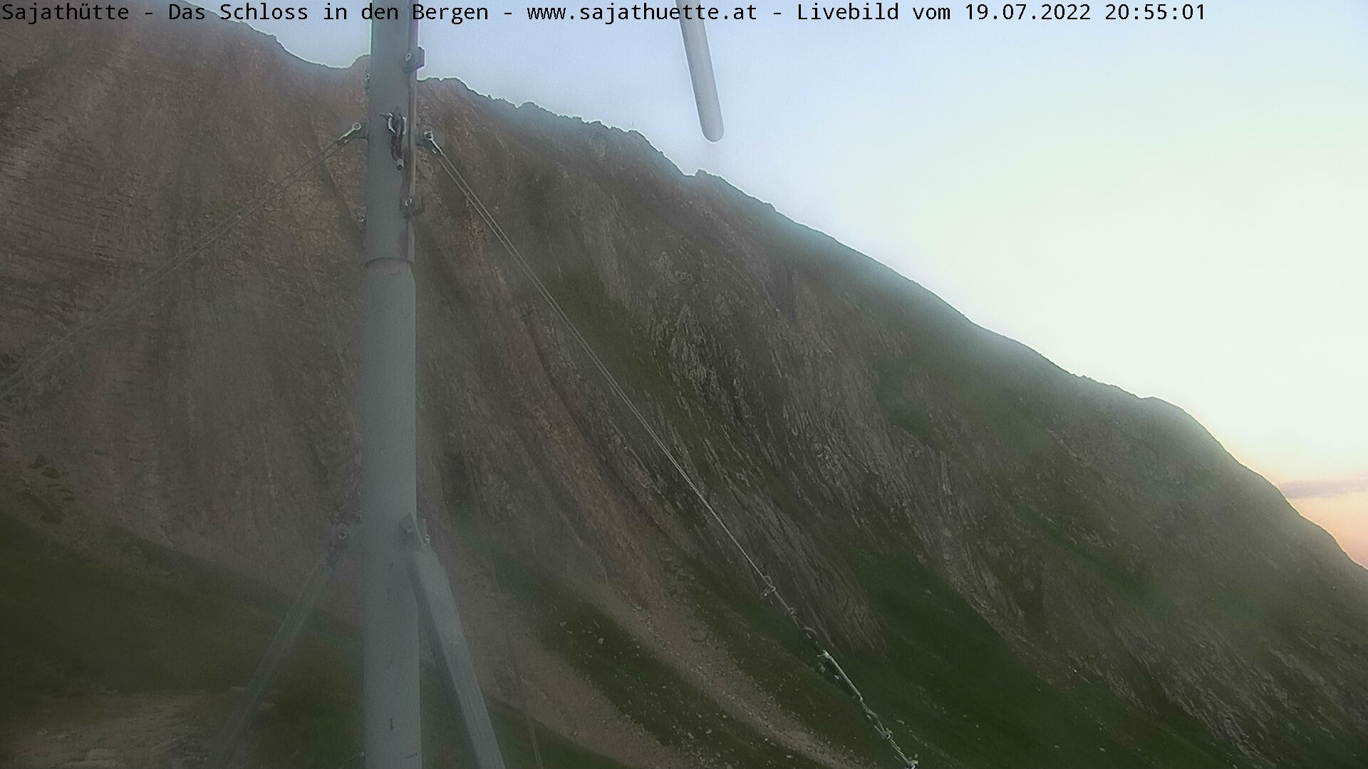 Webcam Webcam Sajathütte  | Aktuelles Live-Bild Lasörlinggruppe