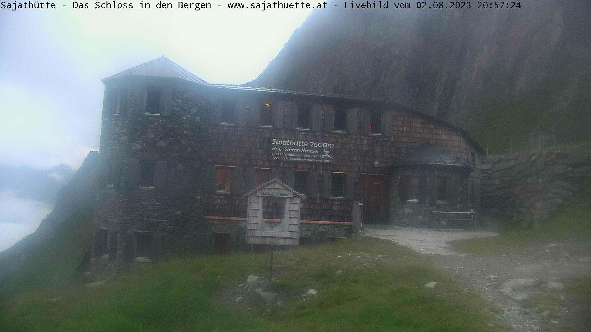 Webcam Webcam Sajathütte - Aktuelles Live-Bild aus 2.600m Seehöhe