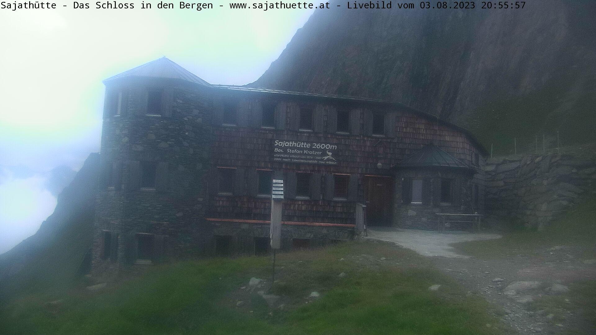 Webcam Webcam Sajathütte | Aktuelles Live-Bild aus 2.600m Seehöhe