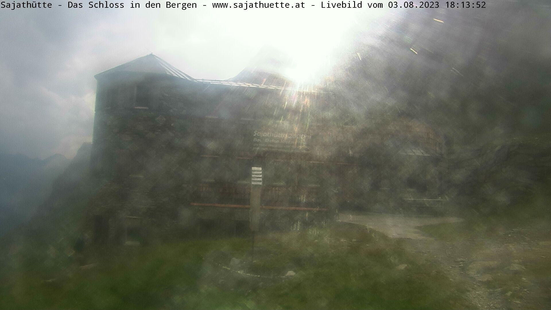 Webcam Webcam Sajathütte   Aktuelles Live-Bild aus 2.600m Seehöhe