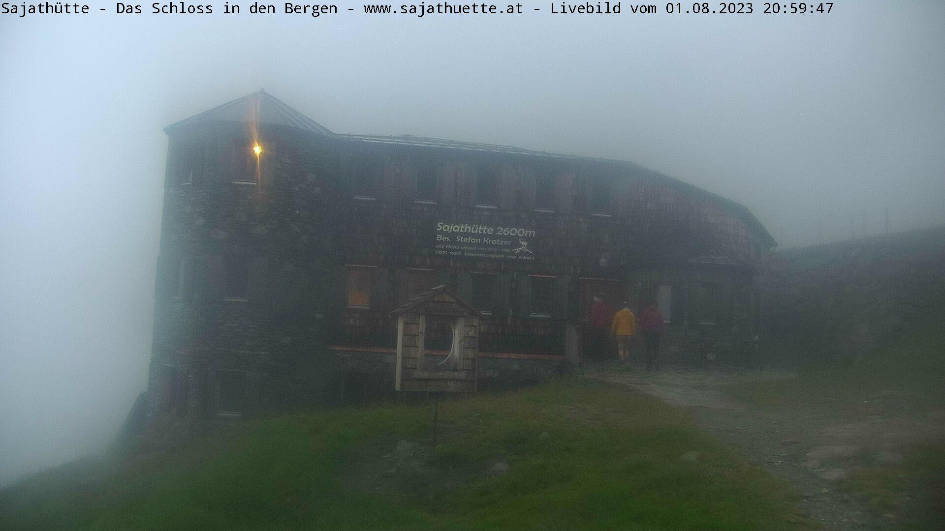 Webcam Blick Richtung Osten | Webcam Sajat-Hütte 2.600 m